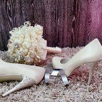 Туфли 889-3628 Цена: 4 500 руб.  Материал: Искусственная кожа Цвет: Сливочный Высота каблука: 11,5 см Размер: 35, 36, 38, 39