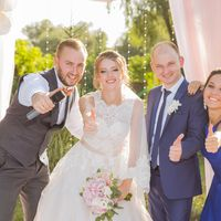 Проведение свадьбы + DJ + светомузыка
