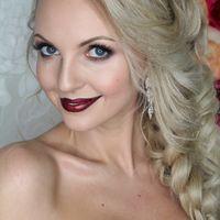 Прическа и макияж для Ольги