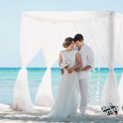 """Свадьба в Доминикане """"Cabeza de Toro Classic"""" - приватный пляж"""