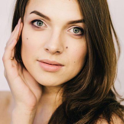 Пробный макияж