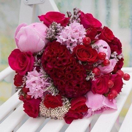 Букет невесты Ягодная нежность