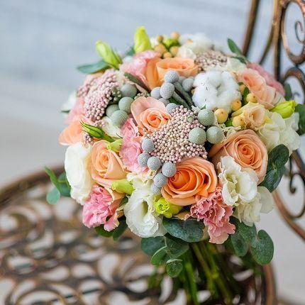 Букет невесты Улыбка Моне