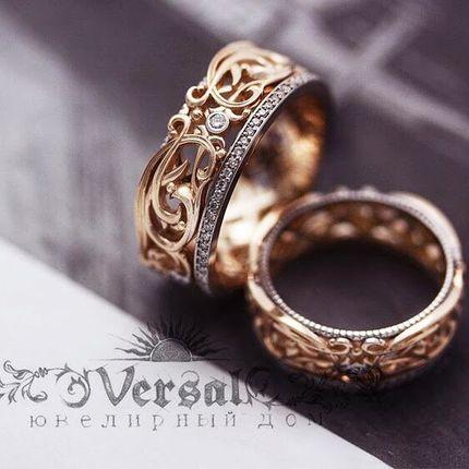 Обручальные кольца, арт. VGOK0156