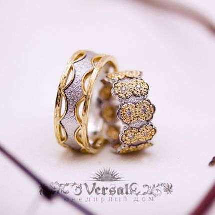 Обручальные кольца, арт. VGOK0161