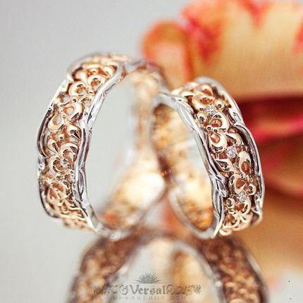 Обручальные кольца, арт. VGOK0130