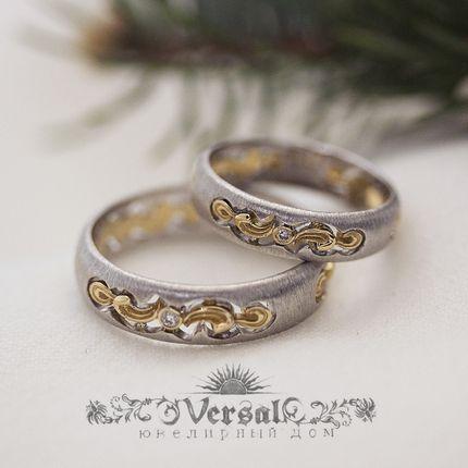 Обручальные кольца, артикул VGOK