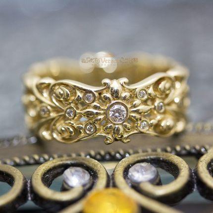 Обручальные кольца, артикул VGOK0110