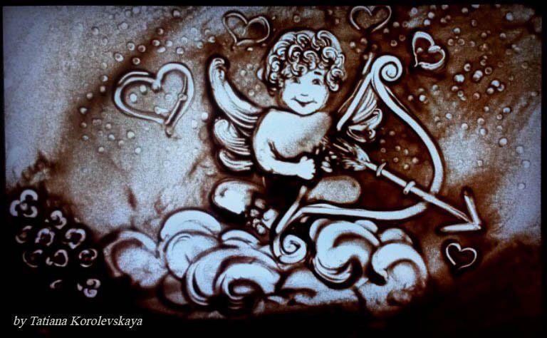 Фото 14913806 в коллекции Песочные картины - Песочное шоу Magicsand