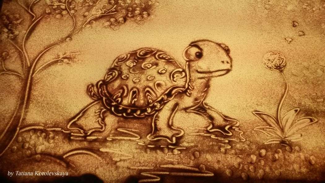 Фото 14913824 в коллекции Песочные картины - Песочное шоу Magicsand