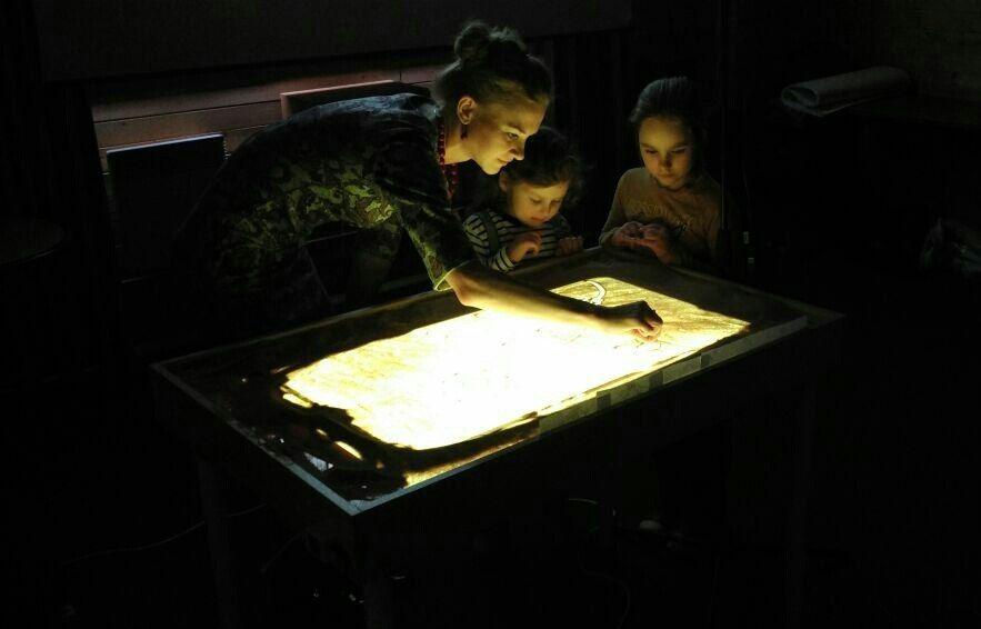 Фото 14913828 в коллекции Песочные картины - Песочное шоу Magicsand
