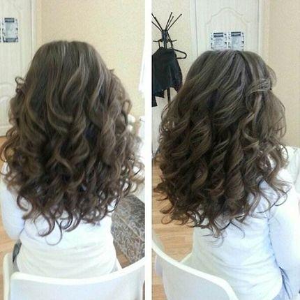 Укладка волос на торжество