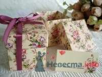 Фото 50621 в коллекции Бонбоньерки - Вашкетова Юлия - организатор свадеб, флорист.