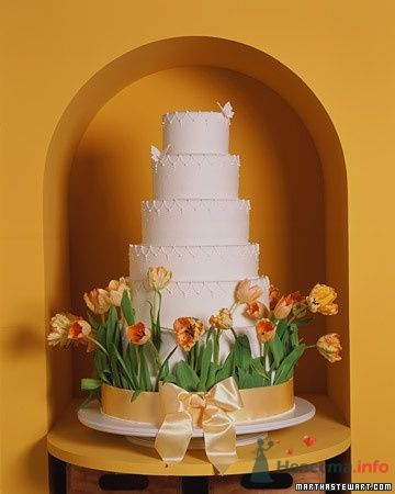 Фото 50670 в коллекции Тортики - Вашкетова Юлия - организатор свадеб, флорист.