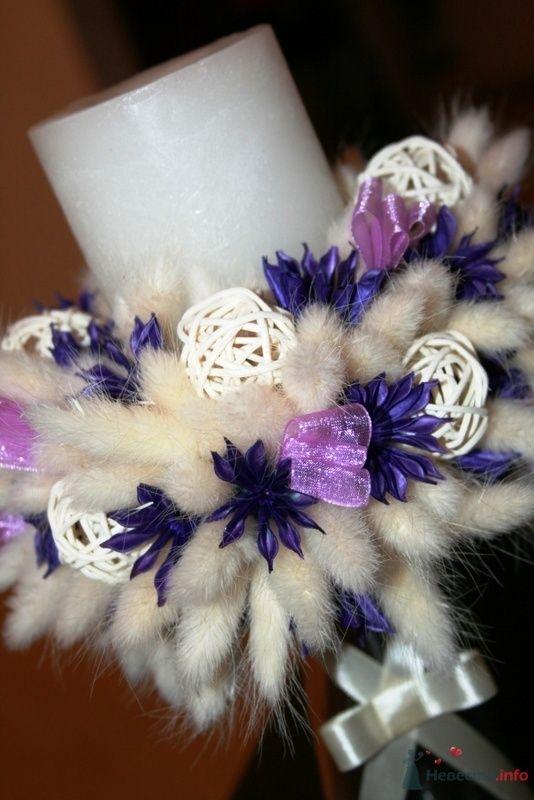 Подсвечник из сухоцветов - фото 70959 Вашкетова Юлия - организатор свадеб, флорист.