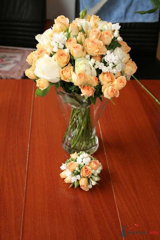 Букет невесты и браслет для свидетельницы - фото 70967 Вашкетова Юлия - организатор свадеб, флорист.