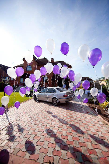 Оформление выкупа шарами.  - фото 80321 Вашкетова Юлия - организатор свадеб, флорист.