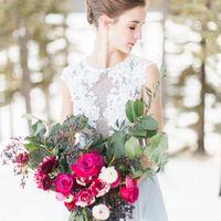 Свадебное платье: Ирис. Дизайнеры: Светлана Русецкая и Карина Буланенко. Фотограф: David Heidrich.