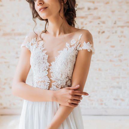 Свадебное платье, код 1713