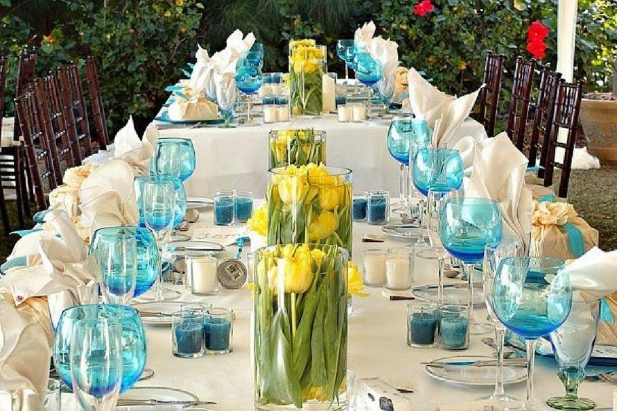 Как накрыть свадебный стол своими руками фото 41