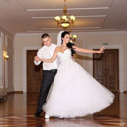 Постановка свадебного танца и репетиции, 3 занятия по 60 минут