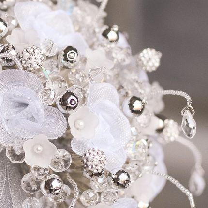 "Букет невесты из бусин ""Metallic"""