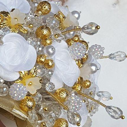 """Букет невесты из бусин """"Ellada"""""""