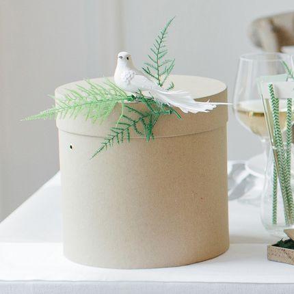 Коробка для денежных подарков и бумажная гирлянда Botanical Garden
