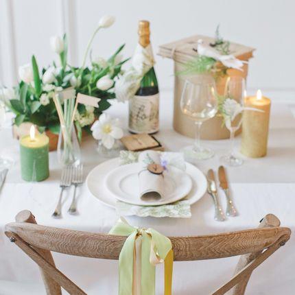 Набор декора стола молодожёнов Botanical Garden