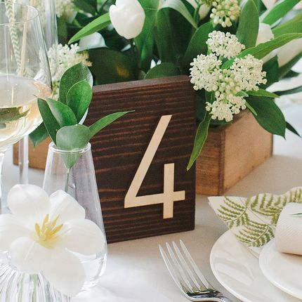 Набор для нумерации стола Botanical Garden