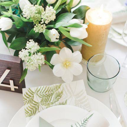 """Оформление стола молодожёнов """"Botanical garden"""""""