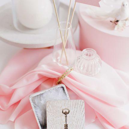 Книга для пожеланий и шкатулка для колец Gold Rose