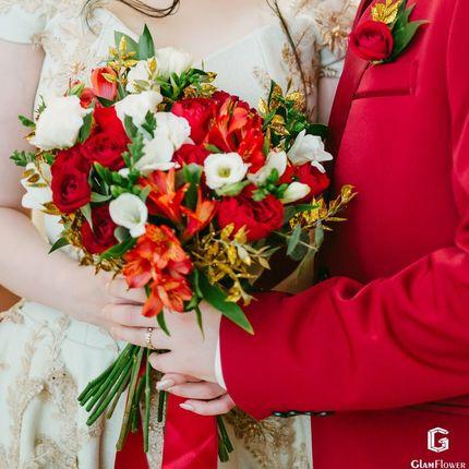 """Букет невесты """"Золотой луч"""""""