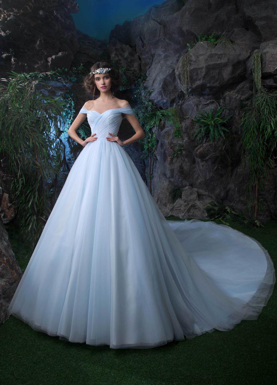 Платье, НВ 861, шлейф