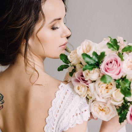 Свадебный образ (причёска и макияж)