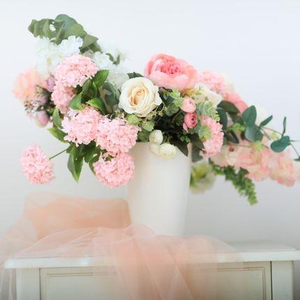 Цветочная композиция на столы гостей
