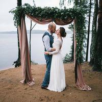 """Свадебное платье  """"Загадка природы"""""""