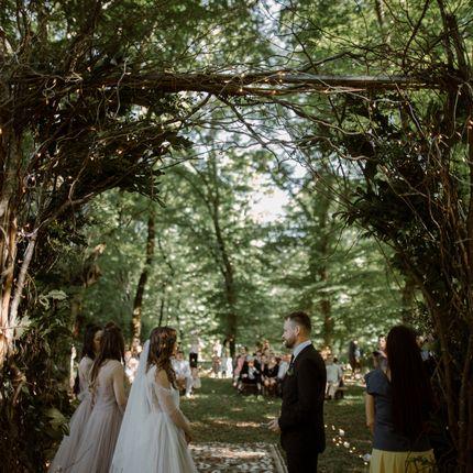 Организация свадьбы в сказочном лесу в Кахетии