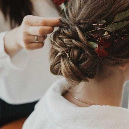 Причёска на торжество