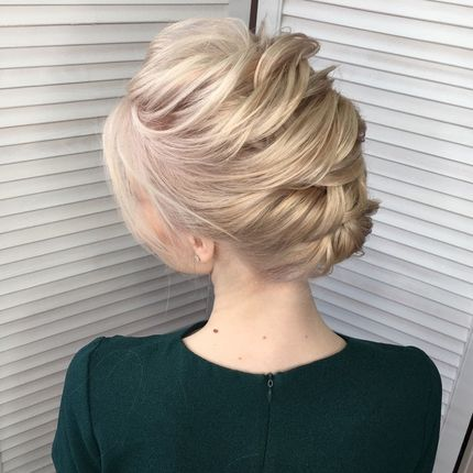 Причёски для гостей