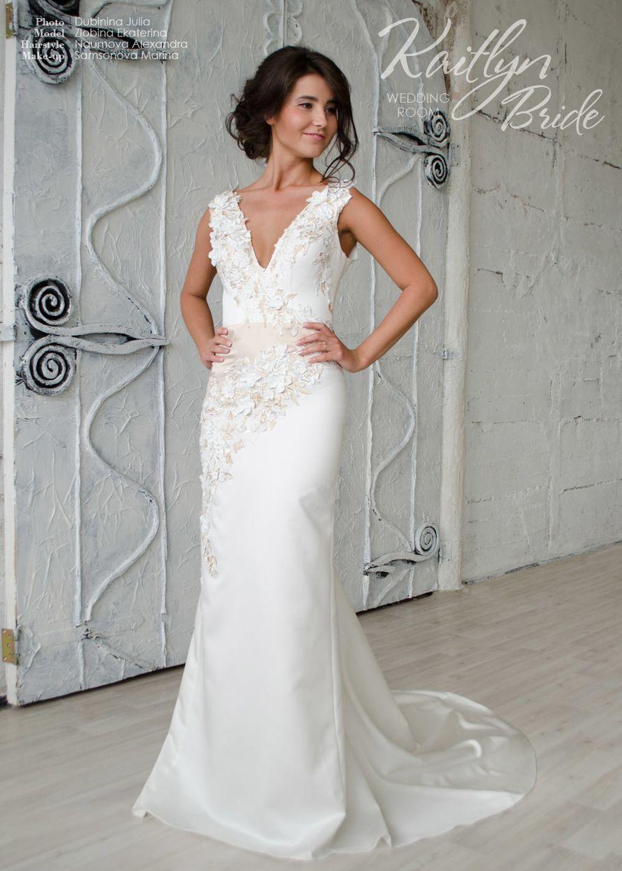 8ca6c71c5f90914 Прямое свадебное платье, арт. K516: Свадебный шоу-рум