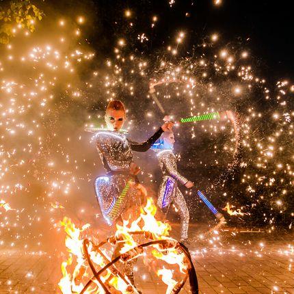 Огненно-пиротехническое шоу Satisfy