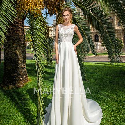 Прямое свадебное платье MB -031