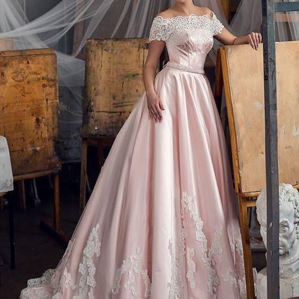Атласное платье Petra