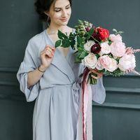 Фото: Елена Ильянова Букет: Make Flowers Полиграфия: Simple Polygraphy