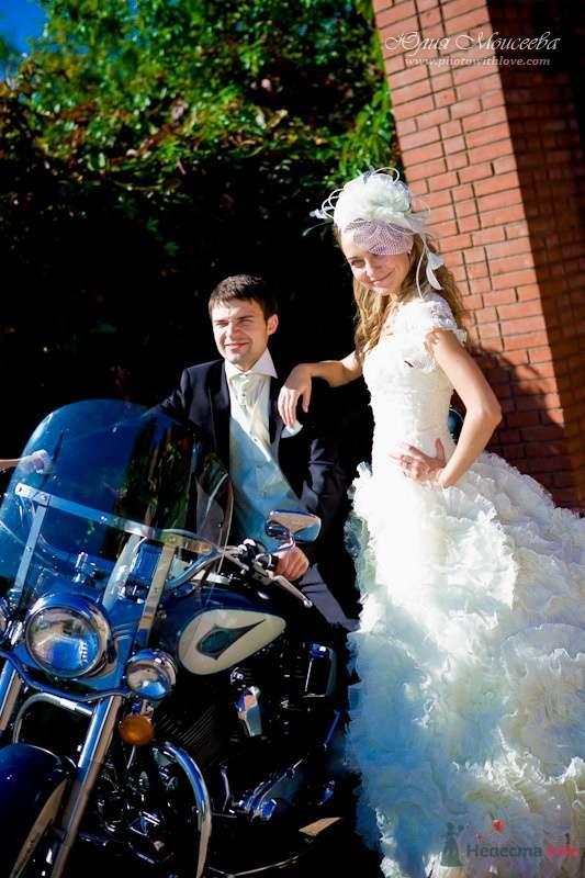 свадьба мотоцикл Харли Дэвидсон - фото 62537 Свадебный фотограф Моисеева Юлия