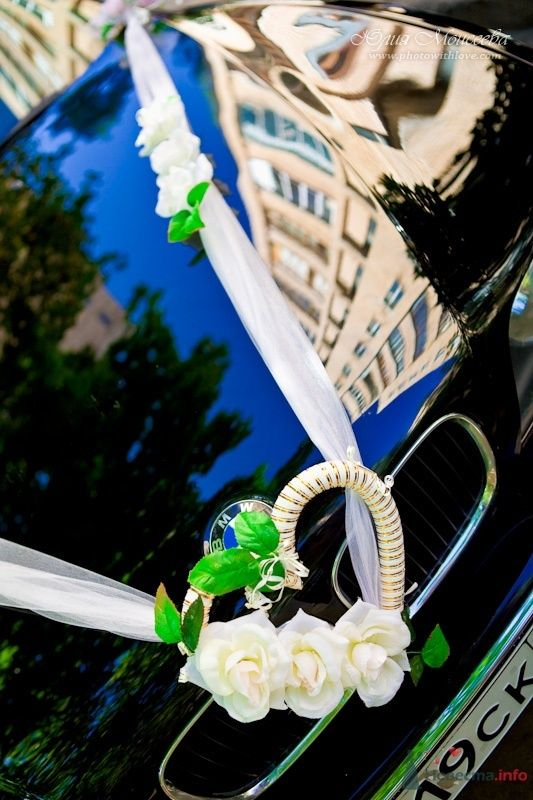 украшение свадебной машины - фото 62568 Свадебный фотограф Моисеева Юлия