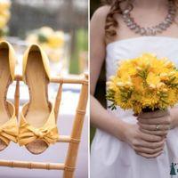 Туфли в цвет свадьбы