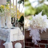 Необычный свадебный декор