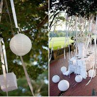 Красивое украшение свадебного стола